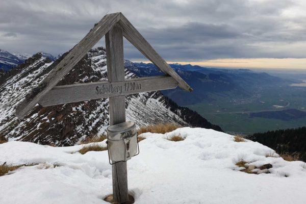 Schafberg 1700 m