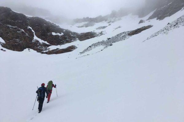 Juni-Winteraufstieg zum Ofenhorn